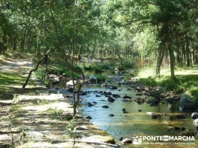 Las Pesquerías Reales - Senderismo Segovia (Ruta de las Pesquerías Reales); tienda de viajes